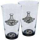 Los Angeles Kings 2014 Stanley Cup Champions 17oz. Bottoms Up Mixing Glass