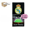 Official Authentic Real Madrid Towel, Black