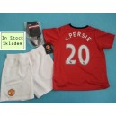 Official authentic Manchester United Mini Kit van Persie 2013/14, home