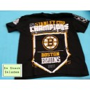 Boston Bruins, Stanley Cup Champions 2011 T-Shirt, Reebok