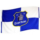Official authentic Flag Everton, Logo