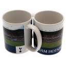 Official Authentic Tottenham Hotspur Mug, Navy Style II.