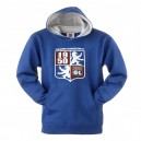 Official Authentic Olympique Lyon Hoody, Blue
