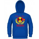 Utras Sur Real Madrid Hoodie, Fans Style, Blue