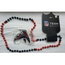 Atlanta Falcons Logo Bead Necklace, In Stock