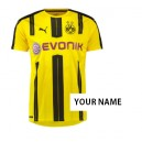 Official authentic Borussia Dortmund Your Name Jersey 16/17 home