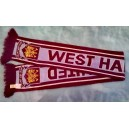 Official authentic West Ham United scarf