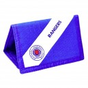 Official Authentic Glasgow Rangers Wallet, Blue