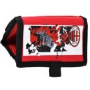Official Authentic AC Milan Wallet, Red