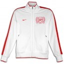 Sport jacket FC Arsenal, White - In Stock
