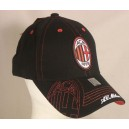 AC Milan Cap, Embroidered