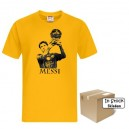 T-Shirt FC Barcelona Leo Messi, Gold Style, In Stock
